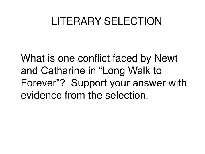 LITERARY SELECTION