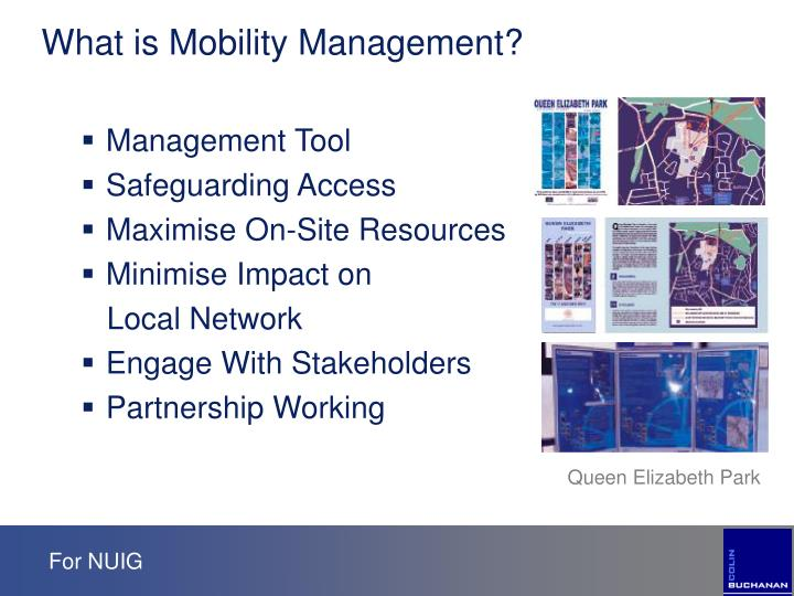 What is Mobility Management?