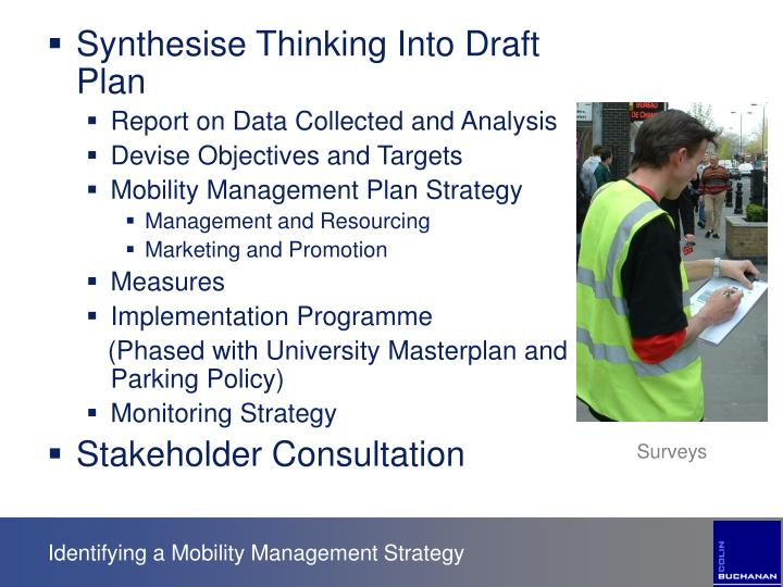 Synthesise Thinking Into Draft Plan