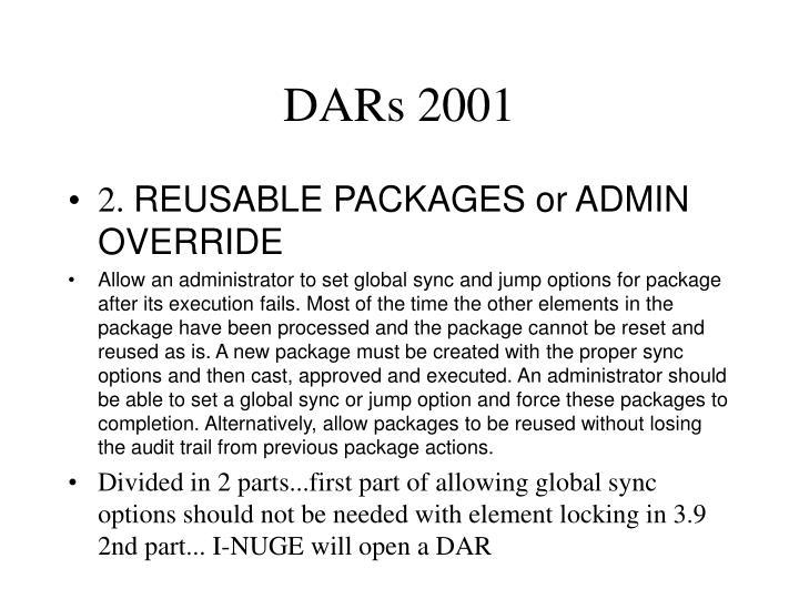 Dars 20011