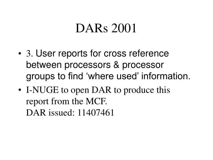 Dars 20012
