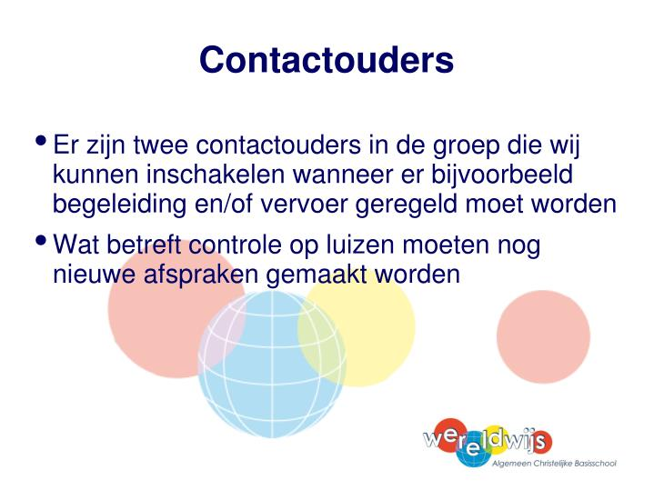 Contactouders