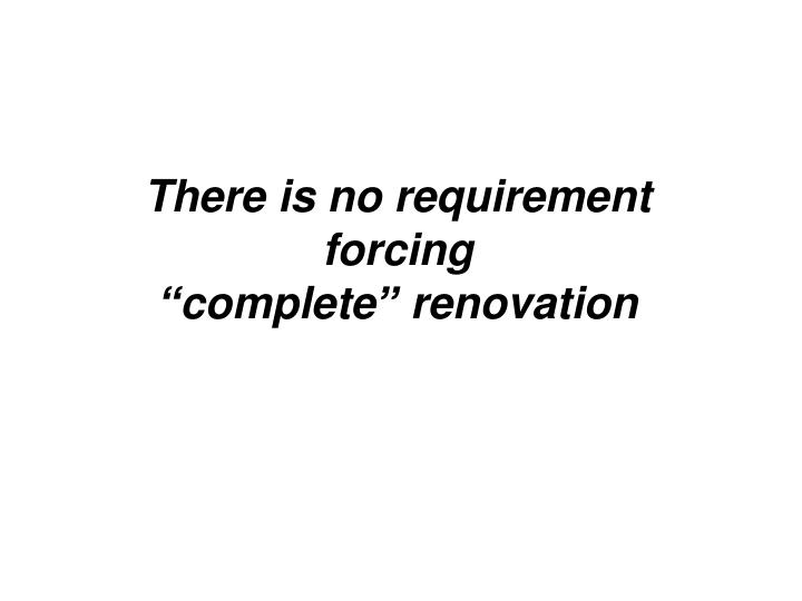There is no requirement