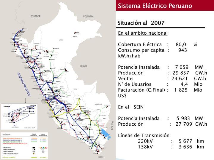 Sistema Eléctrico Peruano