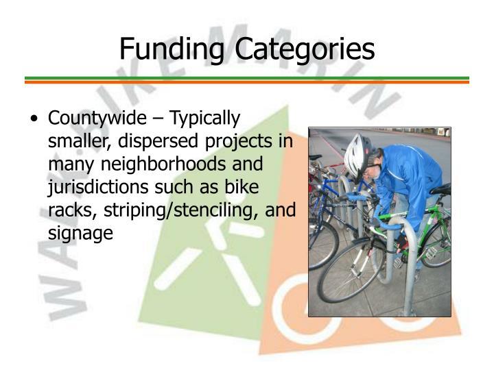 Funding Categories