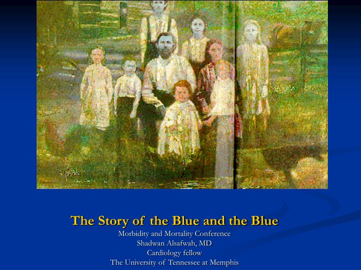 the story of the blue and the blue n.