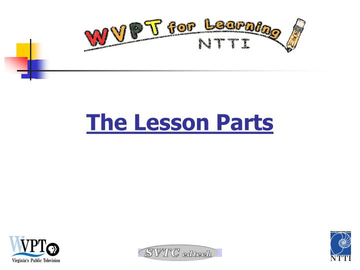 the lesson parts n.