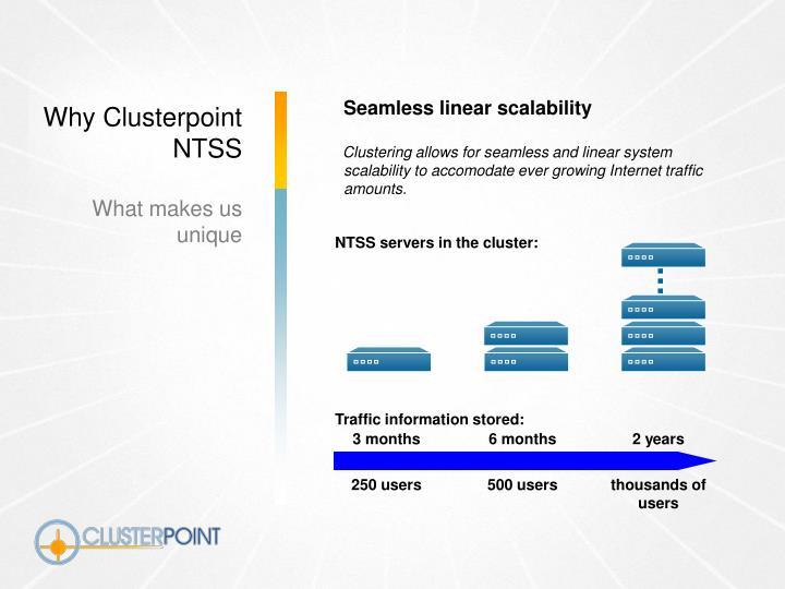 Seamless linear scalability