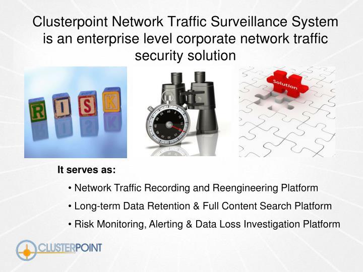 Clusterpoint Network Traffic Surveillance System