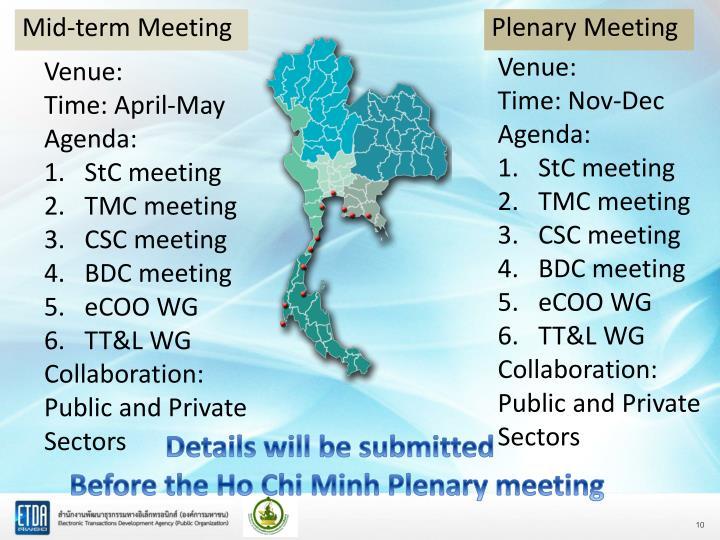 Plenary Meeting