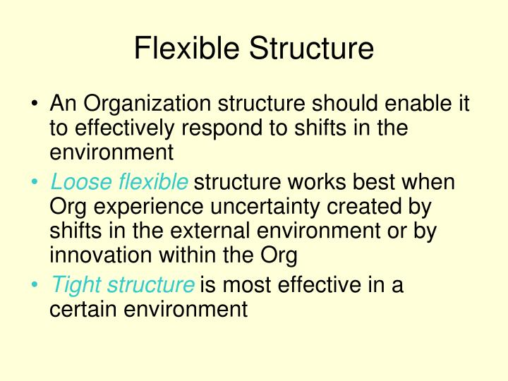 Flexible Structure