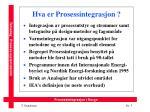 hva er prosessintegrasjon