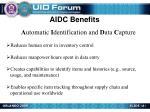 aidc benefits