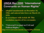 unga res 2200 international covenants on human rights