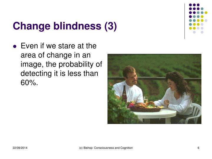 Change blindness (3)