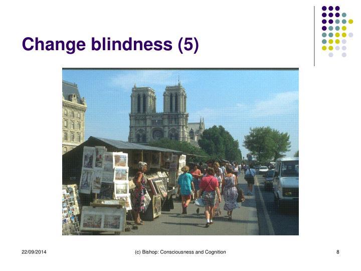 Change blindness (5)
