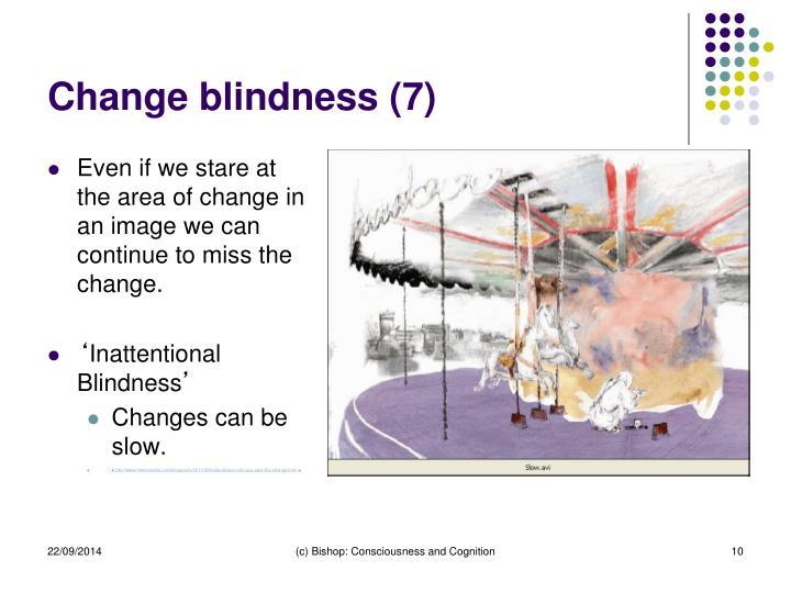 Change blindness (7)