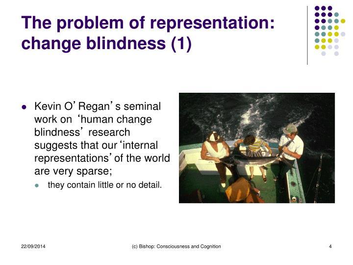 The problem of representation: