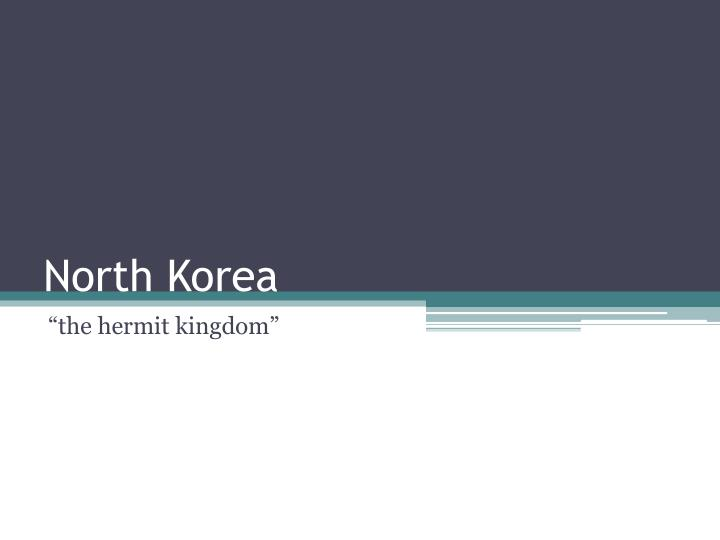 north korea n.