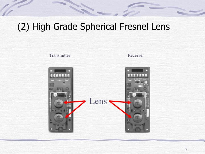 (2) High Grade Spherical Fresnel Lens