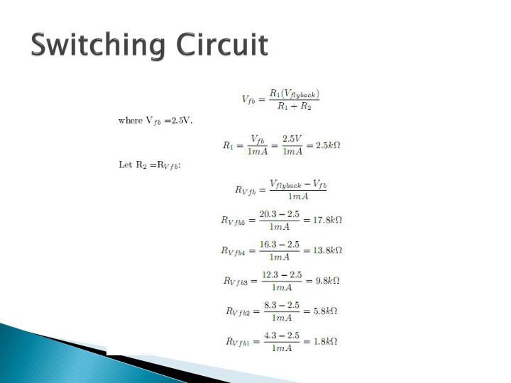 Switching Circuit