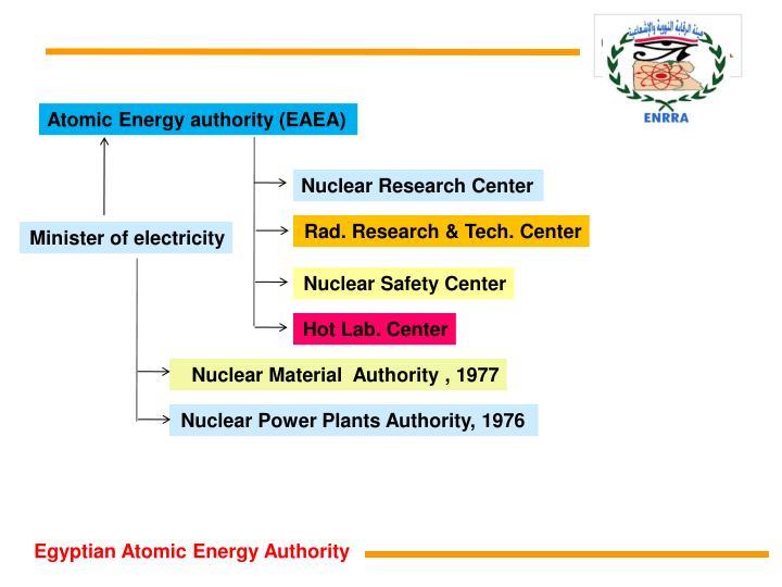 Atomic Energy authority (EAEA)