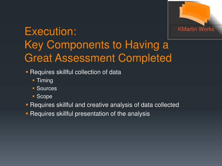 Requires skillful collection of data