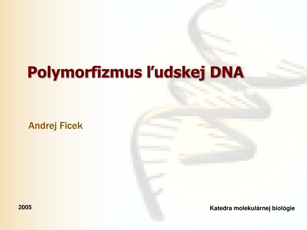 Datovania DNA