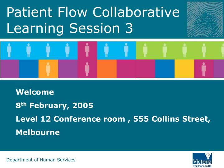 patient flow collaborative learning session 3 n.