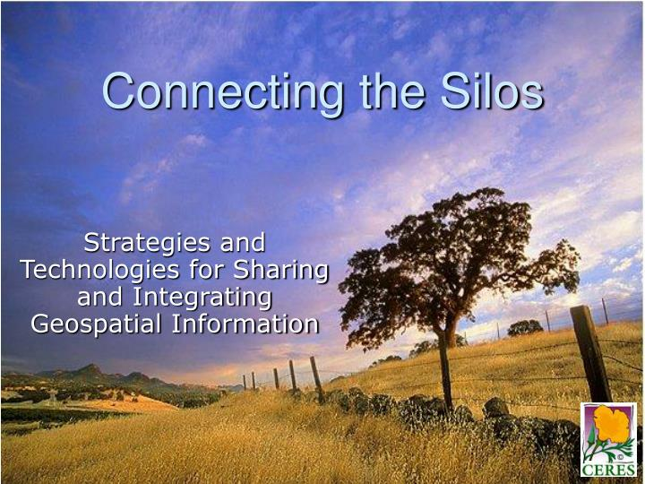 connecting the silos n.