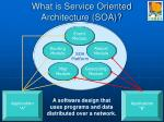 what is service oriented architecture soa