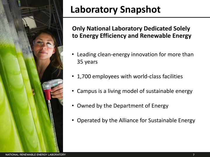 Laboratory Snapshot