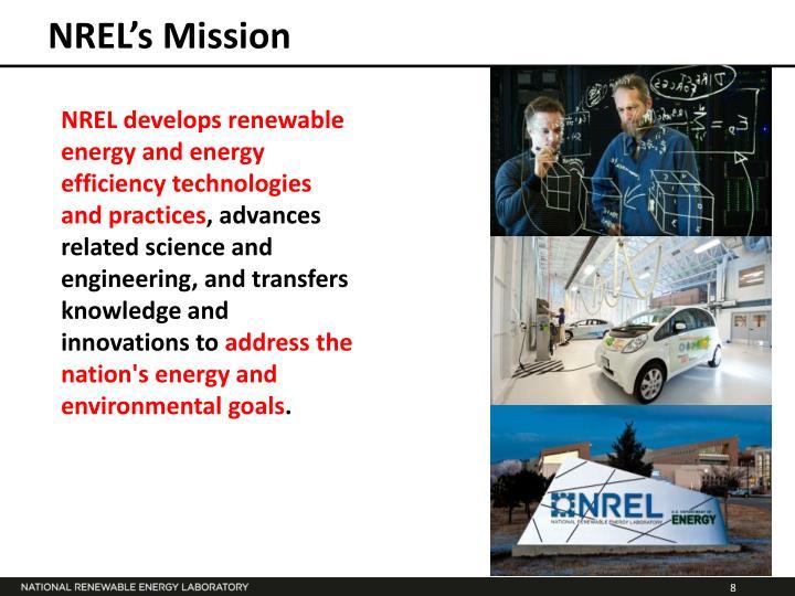 NREL's Mission