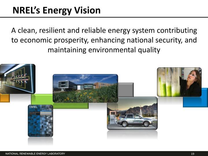 NREL's Energy Vision
