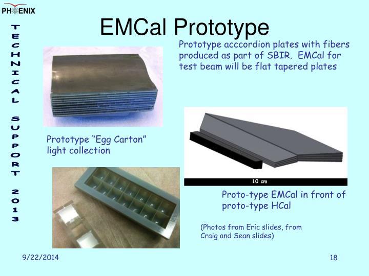 EMCal Prototype