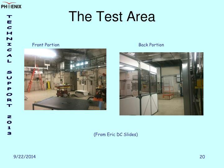 The Test Area