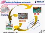 cambio de r gimen voluntario