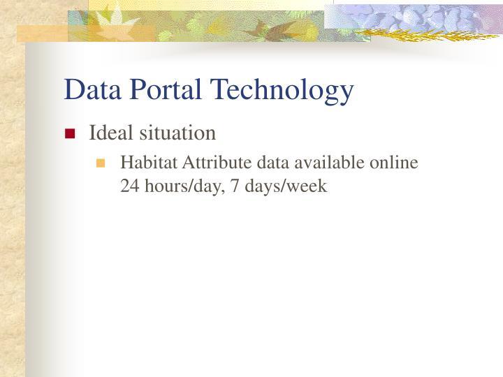 Data Portal Technology