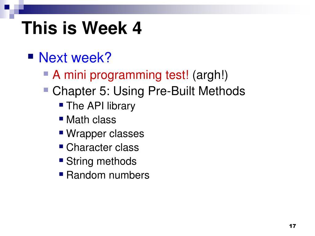 Ppt Cs1101 Programming Methodology Comp Nus Sg Cs1101x Powerpoint Presentation Id 4685734