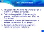 nrm best practices