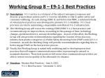 working group 8 e9 1 1 best practices1