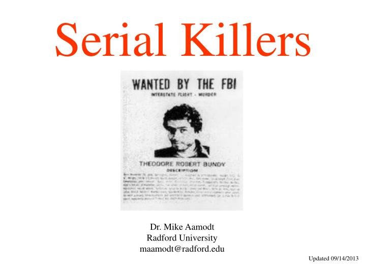 essays on serial killers Picking up unique argumentative essay topics on serial killers no one ever wants to be in a position where they need to bring up the subject of serial killers as a matter of fact, this has been a challenge for lots of students over the years society has brought us up in such a way that we.