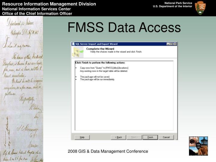 FMSS Data Access