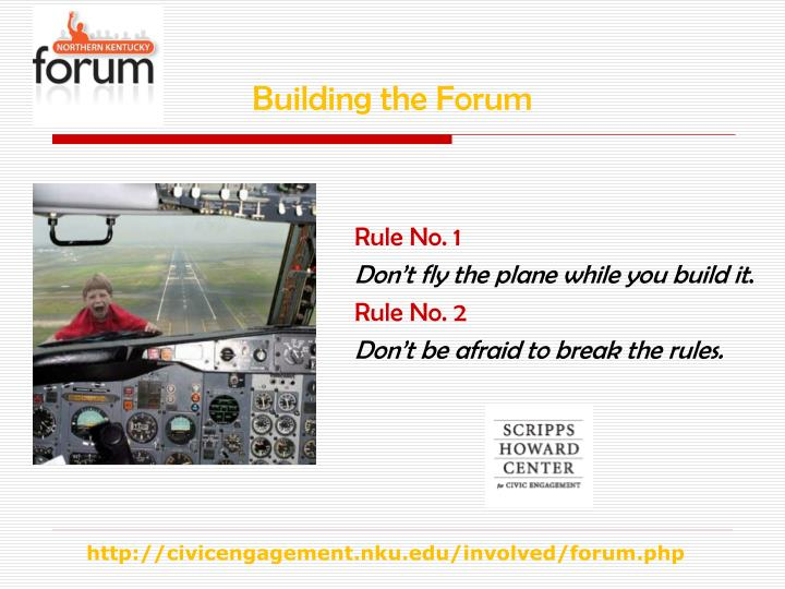 Building the Forum