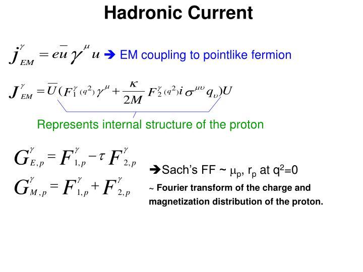 Hadronic current