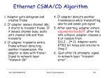 ethernet csma cd algorithm