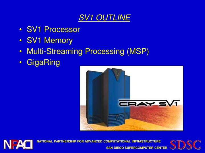 Sv1 outline