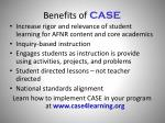benefits of case