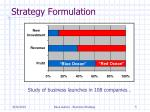 strategy formulation1