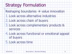 strategy formulation2